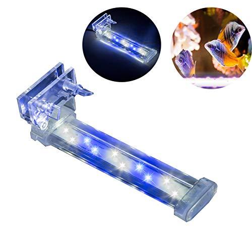 LED Lámpara De Acuario Soporte De Cristal Tanque De Luz De Pescadoiluminación De Acuario Mini Luz Ahorro De Energía del...