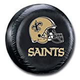 New Orleans Saints Official NFL Spare Tire Cover by Fremont Die
