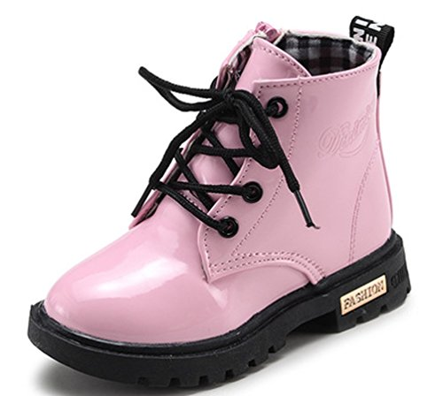 VECJU (Lace Up Pink Boots)