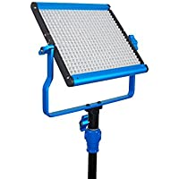 Dracast S Series Bi-Color LED500 Video Light with 2 NP-F Battery Plates, Blue (DRASP500BN)