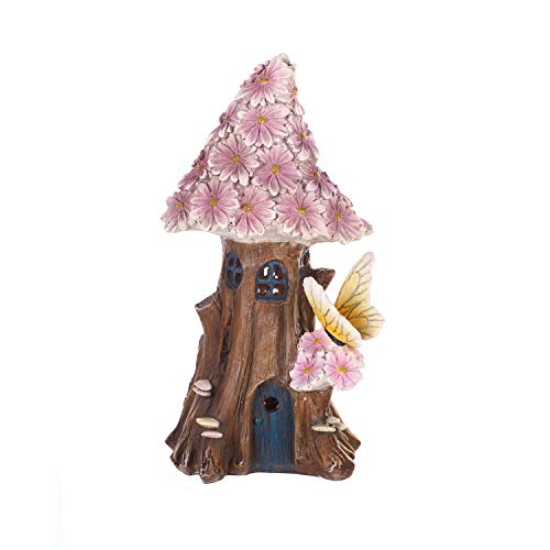 Solar Lighted Fairy House in US - 3
