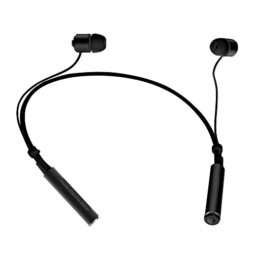 bluetooth headphones lumsing magnet wireless neckband bluetooth headset v4 1 stereo noise. Black Bedroom Furniture Sets. Home Design Ideas