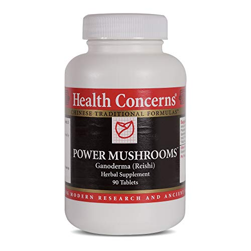 Health Concerns – Power Mushrooms – Ganoderma (Reishi) Herbal Supplement – 90 Tablets