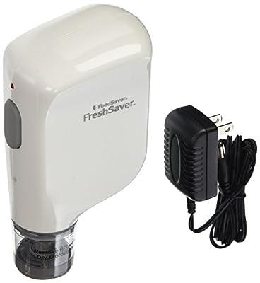 FoodSaver Vacuum Sealer FSFRSH0051-P00 FreshSaver Handheld Rechargeable Sealing System, White