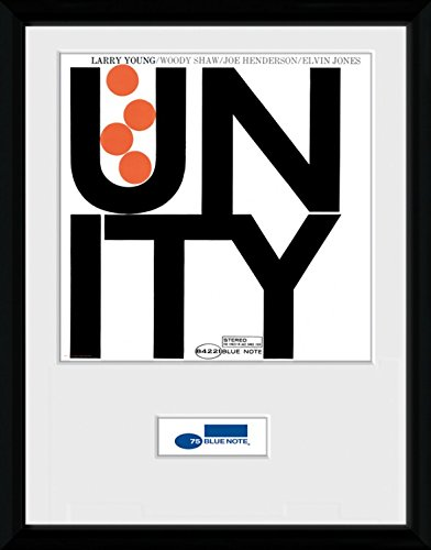 Amazon.com: Blue Note Records Framed Collector Poster - Unity, Larry ...