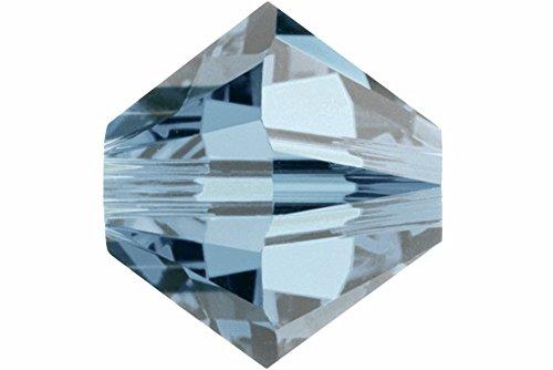 Swarovski 5301 24 Piece (Swarovski Crystal, #5301/5328 Bicone Beads 4mm, 24 Pieces, Indian Sapphire)