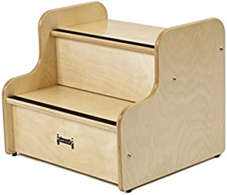 product image for Jonti-Craft 5520JC Step Up Deluxe Stool, Maple