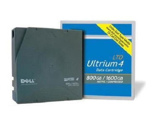 Dell LTO Ultrium 4 Data Cartridge Tape 800GB/1.6TB 20-Pack by Dell