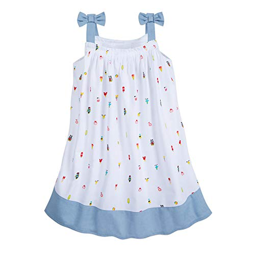 Disney Mickey and Minnie Mouse Summer Fun Woven Dress for Girls Size 9/10 ()