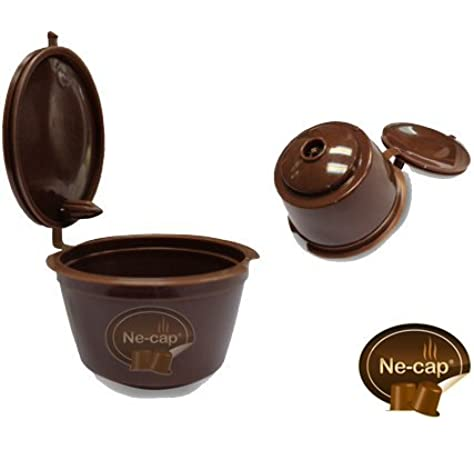 Capsulas Reutilizables compatibles con cafetera Dolce Gusto (Pack ...