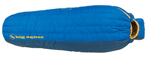 Cheap Big Agnes – Lost Ranger 15 Sleeping Bag with DownTek, Wide Width, Long Length, Left Zipper