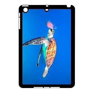 iPad Mini Cases, DDdiy Sea turtle Custom Hard Back Cover Case for iPad Mini