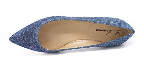 L'Arianna femme Bleu Ballerines Jeans pour wqSqxYOF