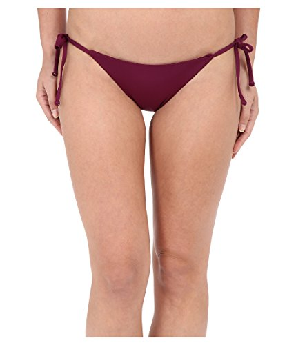 Becca by Rebecca Virtue Women's Color Code Tie Side Bottom, Marsala, SM ()