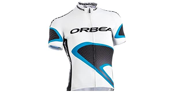Orbea - Camiseta (talla L), color blanco: Amazon.es: Deportes y aire libre