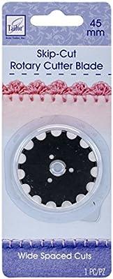 e5885033b0 June Tailor Wide-Skip Blade Edging Tool for Fleece Blankets