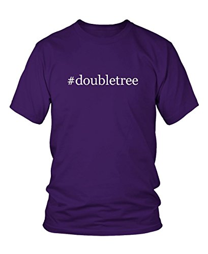 doubletree-hashtag-mens-adult-short-sleeve-t-shirt-purple-x-large