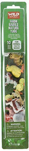 Farm Figurine - Wild Republic Figurines Tube Toys and Games, Farm Babies