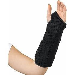 Medline Universal Wrist and Forearm Splint, Left