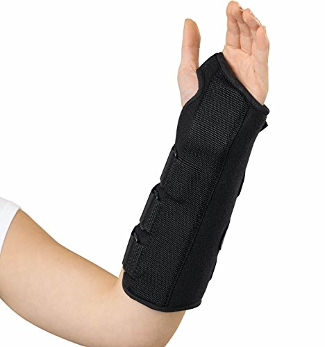 MEDLINE ORT18000L Universal Size Wrist and Forearm Splints (Left)