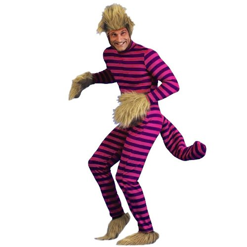 Cheshire Cat Adult Costume, Standard One-Size, Purple