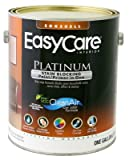 True Value ECPEP-GL Pure White Pastel Base Interior Eggshell Finish Paint with Stain Blocker EasyCare Platinum Paint and Primer in One, 1-Gallon