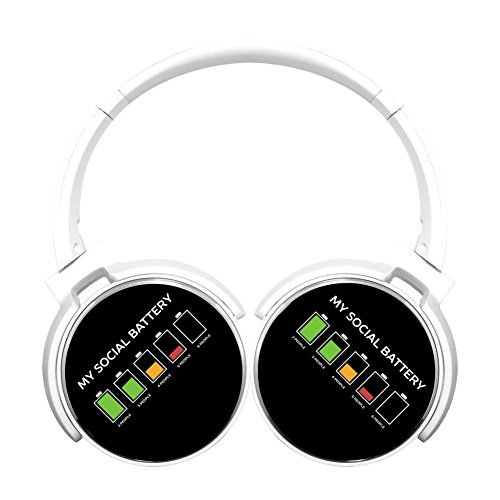 MagicQ Leave Me Alone Discharge Bluetooth Headphones,Hi-Fi S