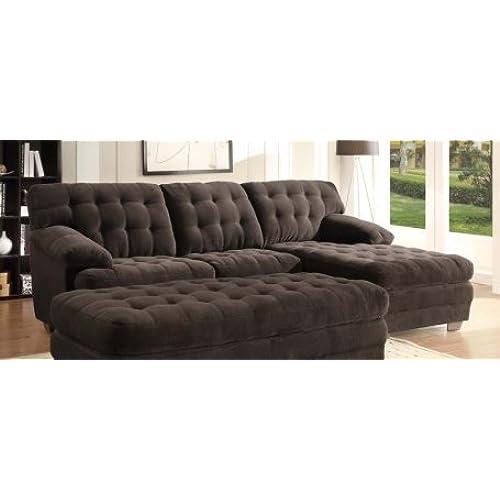 Overstuffed Sofa Amazoncom