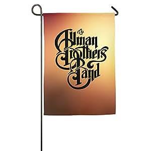 Allman Brothers Band Logo bandera de Jardín