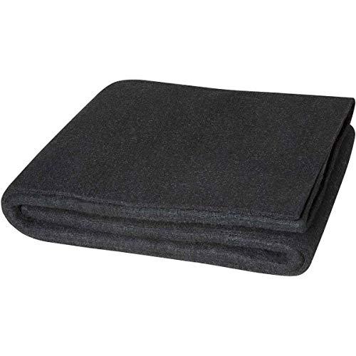 Steiner 317-6X6 Velvet Shield HD 24-Ounce Black Carbonized Fiber Welding Blanket, 6' x - Velvet Shield