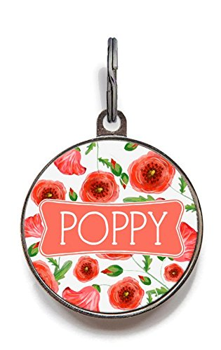 Wag-A-Tude Tags Poppy Pet Tag - for Dogs and Cats - for sale  Delivered anywhere in USA