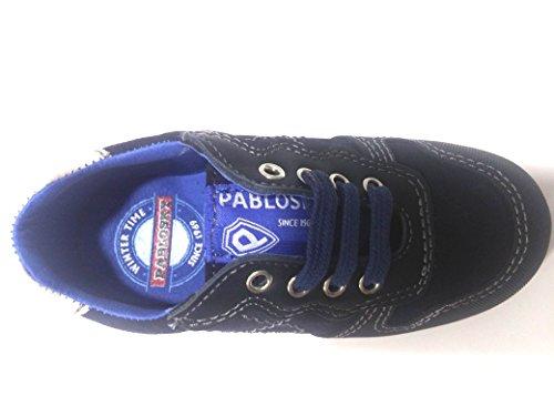 Zapatillas Pablosky niño serraje marino -667122-