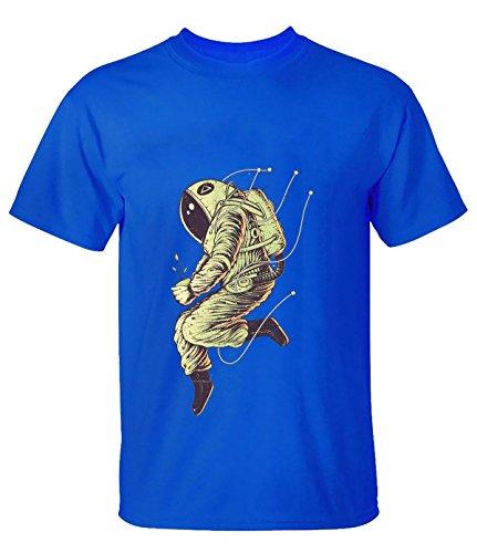 ReRabbit astronaut T-Shirt For Men L blue