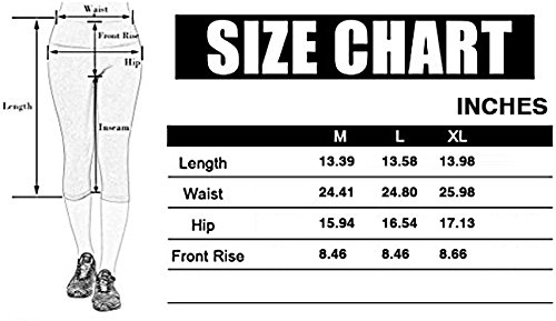 Yaga Leggings Capri Pants ibowoo for Women Workout Sport, Yoga Pants With Pockets