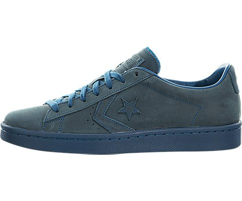 Converse Pro Leather Autumn Mono Low Top Sneakers Lagoon Blue 10 D(M) US (Pro Sneaker Leather)