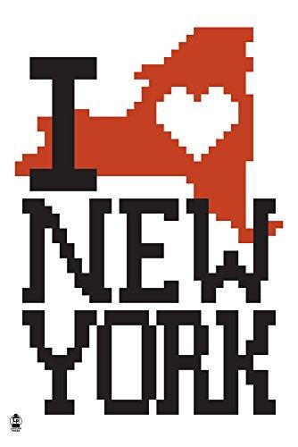 New York - 8-Bit Retro Video Game