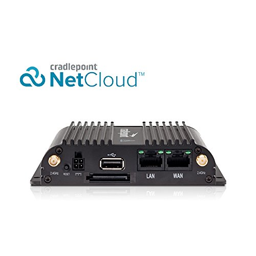Cradlepoint COR-IBR650B-LP4-NA 4G LTE w/3G Fallback Router: Indoor Enterprise AT&T, Verizon Certified