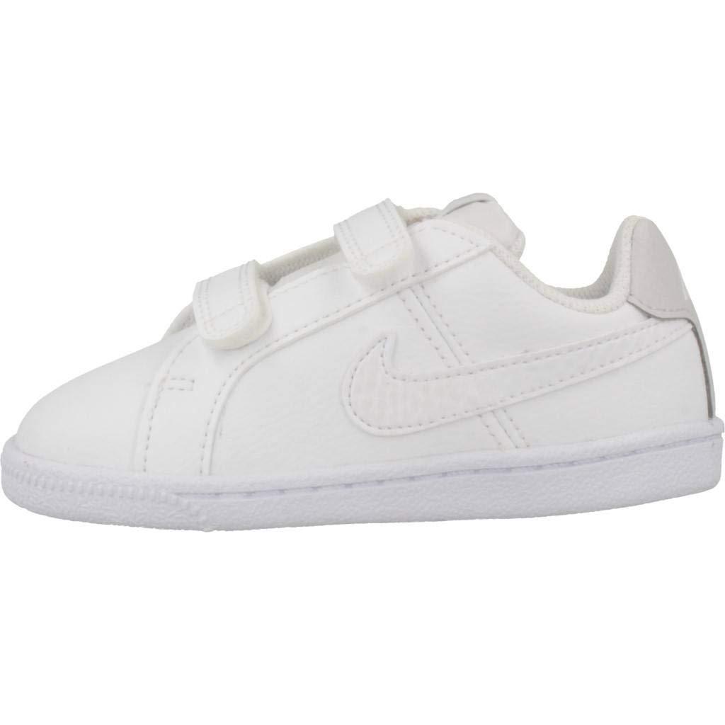 Nike Court Royale TDV Zapatillas de Estar por casa Unisex beb/é