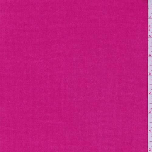 (Deep Pink Stretch Corduroy, Fabric by The Yard)
