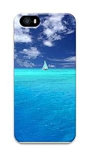iPhone 5 5S Case Wonderful Blue Ocean 3D Custom iPhone 5 5S Case Cover