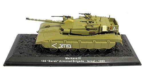 "Deagostini 1:72 Diecast Model Tank - Merkava III. 188 ""Barak"""