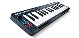 M-Audio Keystation Mini 32 | Ultra-Portable 32-Key USB MIDI Keyboard Controller