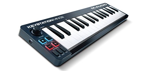 M-Audio Keystation Mini 32 | Ultra-Portable 32-Key USB MIDI Keyboard Controller (Christmas After Air Ipad Deals)
