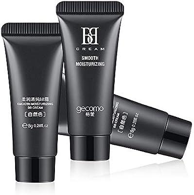 Joykith Beauty Liquid Foundation GECOMO Moisturizing Nude Makeup Concealer Foundation Moisturizer Whitening Multi Function BB Cream with Effect of UV Blocking,Whitening,and Wrinkle Care