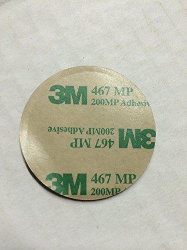 3M Double Sided Tape Adhesive Circle Sticky Dot! Pack of 200 Per 1 Order, wfy1.77DIA X 1mm Heavy Duty Mounting Tape