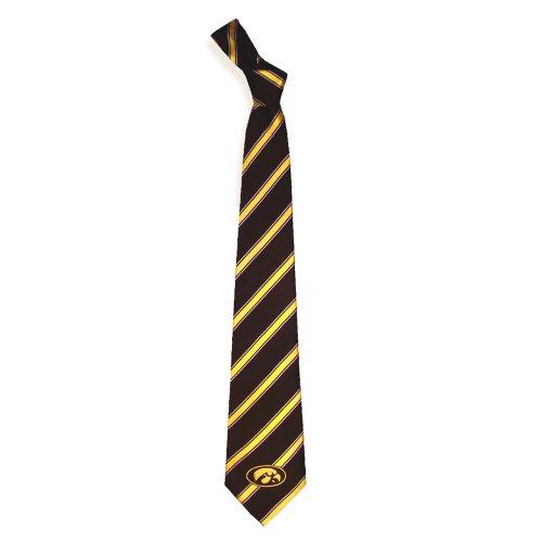 (Iowa Hawkeyes Collegiate Woven Polyester Necktie)