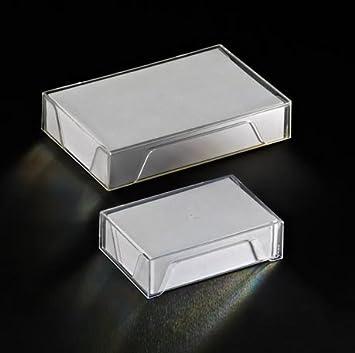 Boite Plastique Pour Cartes De Visite 55x86mm Dim Interieures 575x875x24