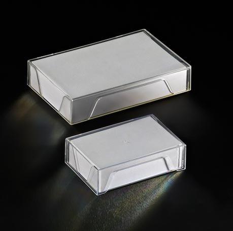 Bote Plastique Pour Cartes De Visite 55x86mm Dim Intrieures 575x875x245mm