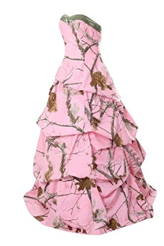 Dress Camo Bride Prom Bridesmaid Dress Camouflage Angel Pink5 Pink Homecoming Dress OYxnwEA