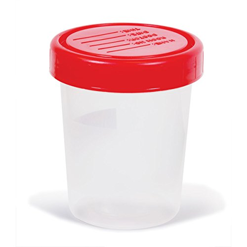 Specimen Containers 120mL Non-sterile Screw-on ()